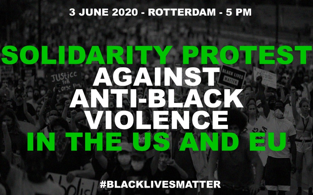 Solidarity Protest Against Anti-Black Violence in US/EU 010